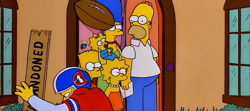 The Simpsons Denver Broncos